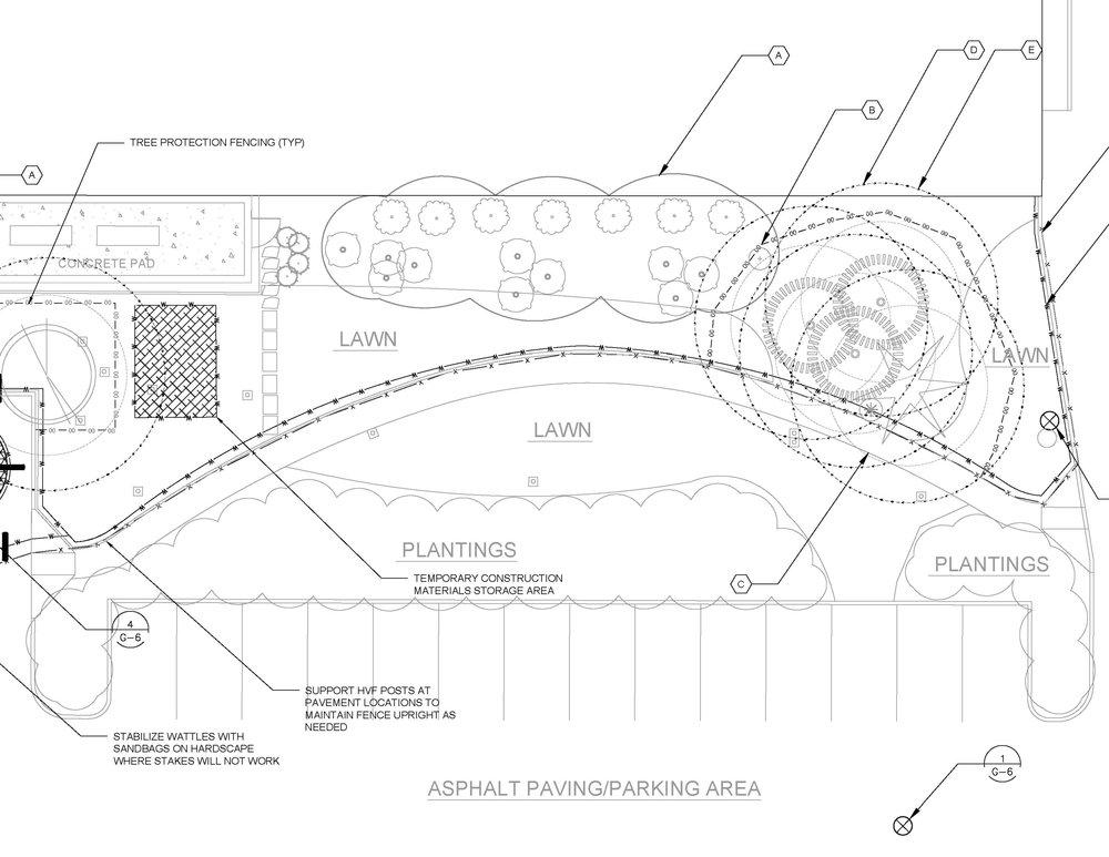Project TESC plan sheet.