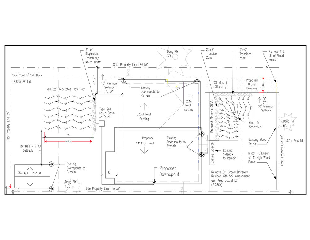Drainage and wastewater control plan.