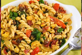 Chickpea Pasta Salad Chef Don S Creations