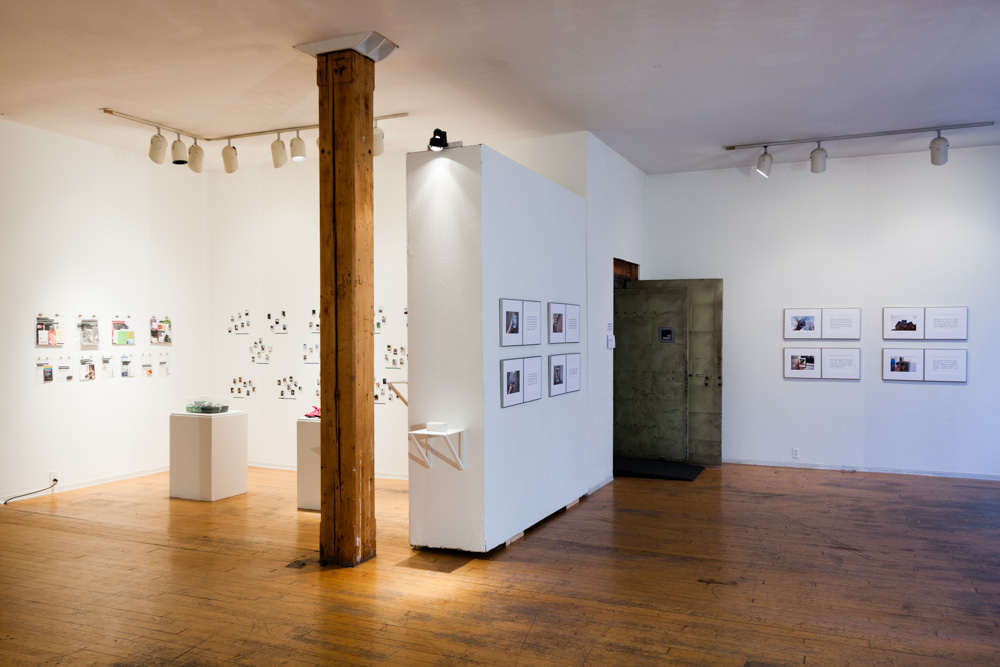 Installation view at SPACES.
