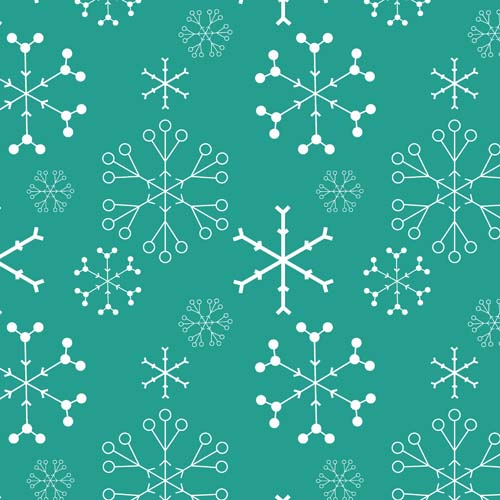 white on aqua snowflakes.jpg