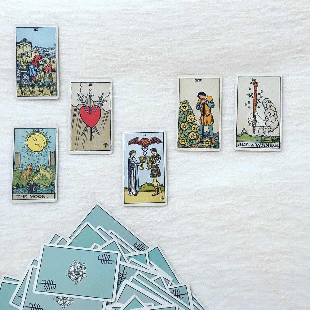 Pamela Coleman Smith deck - Original artist of the Rider-Waite tarot deck
