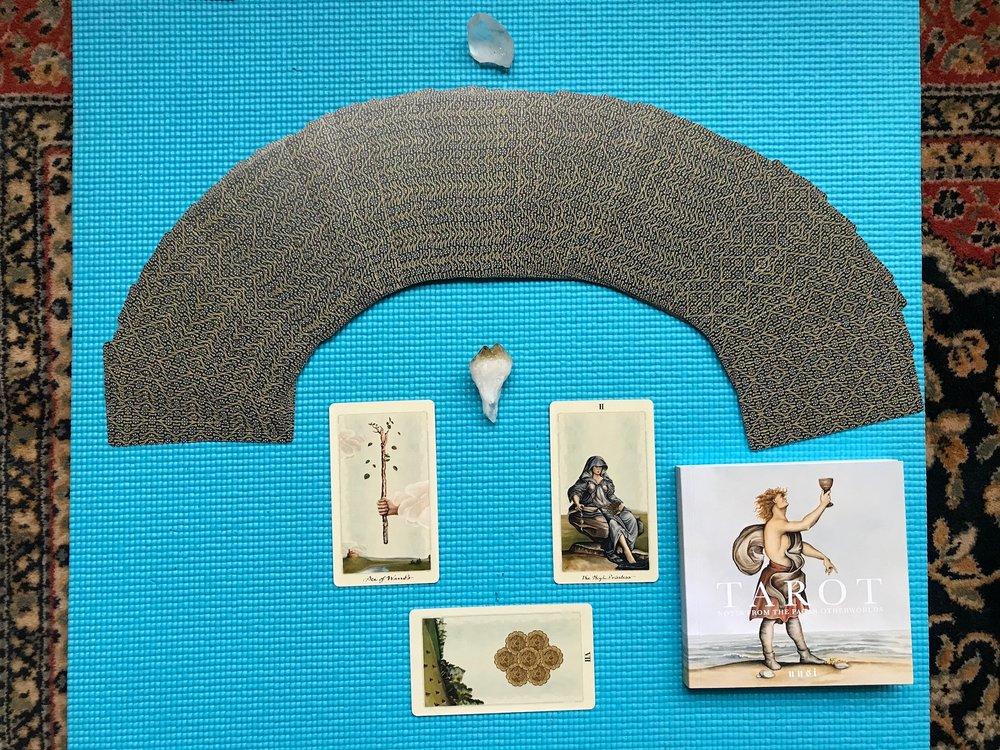 Pagan Otherworlds Tarot - A deck by Uusi Designs; Peter Dunham and Linnea Gits