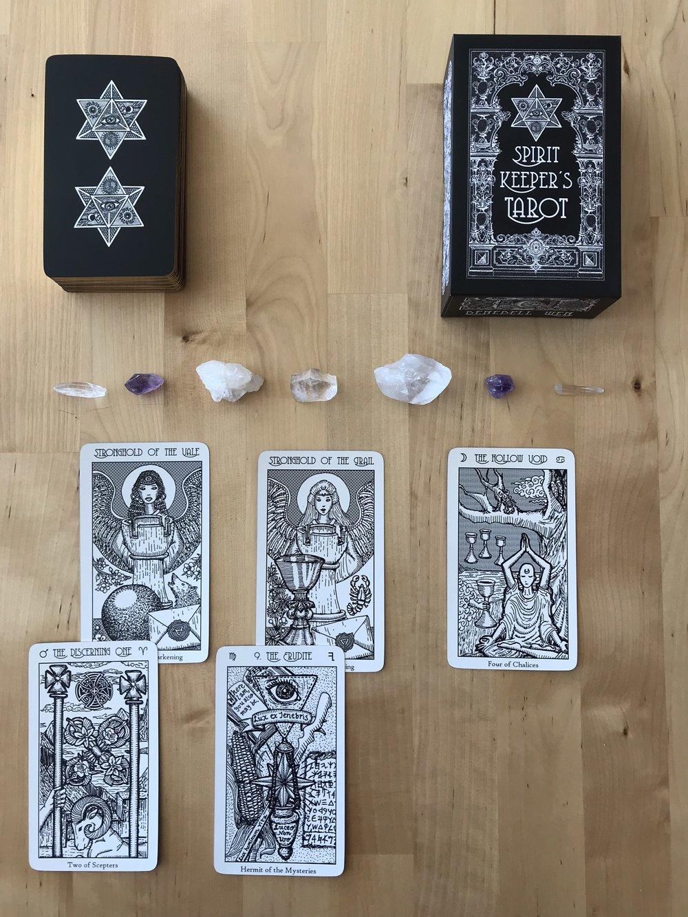 Spirit Keeper's Tarot - A Tarot system by Benebell Wen