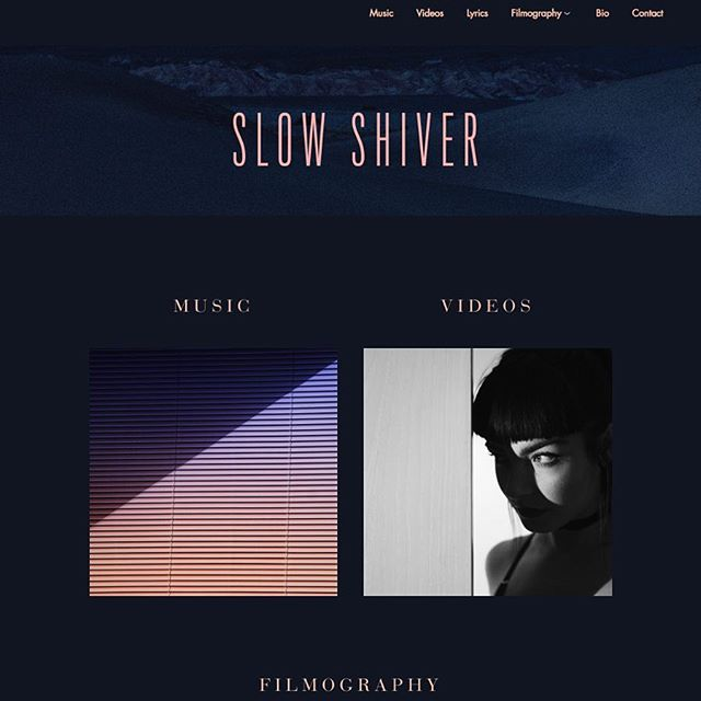 🍾☎️ NEW WEBSITE ☎️🍾 SlowShiver.com  With lots of new artifacts from my double life as an Artist and a Composer.  To keep abreast of secret news and what's coming soon, sign up to the mailing list there. 🤫📮 Redesign by: @manufacturco Development by: Ben Shim
