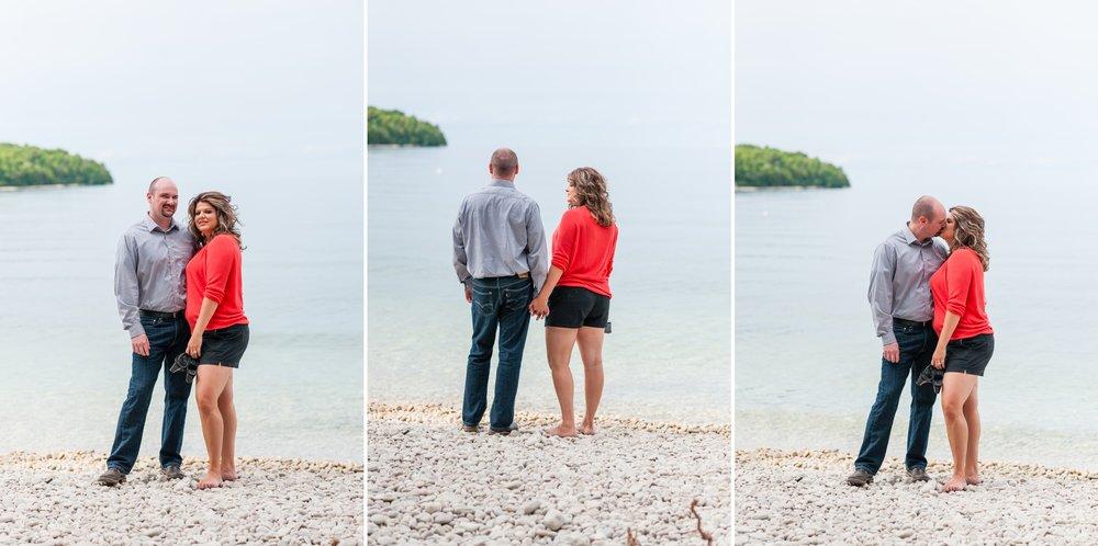 Best Wisconsin Wedding Photography Fragrant Isle Lavender Farm Engagement Photoshoot