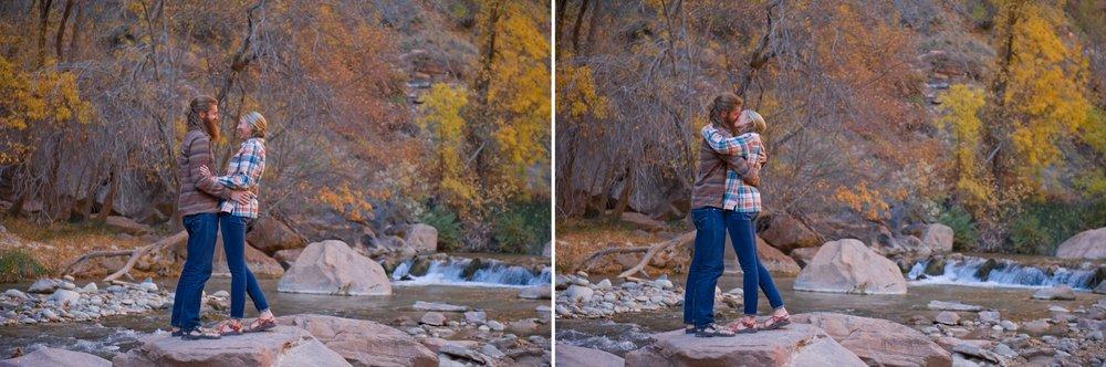 Engagement Photoshoot, Zion National Park