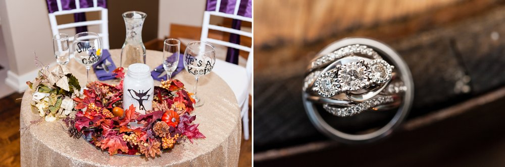 A Harry Potter Wedding at Sepia Chapel: Iris + Floyd Say I Do