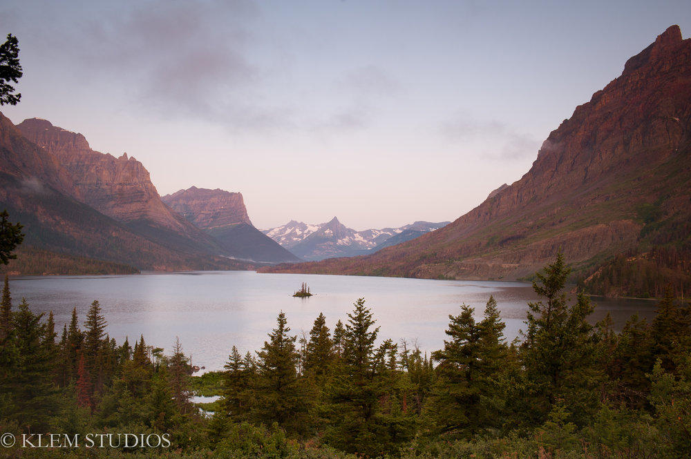 Elope in Glacier National Park | KLEM Studios Photography