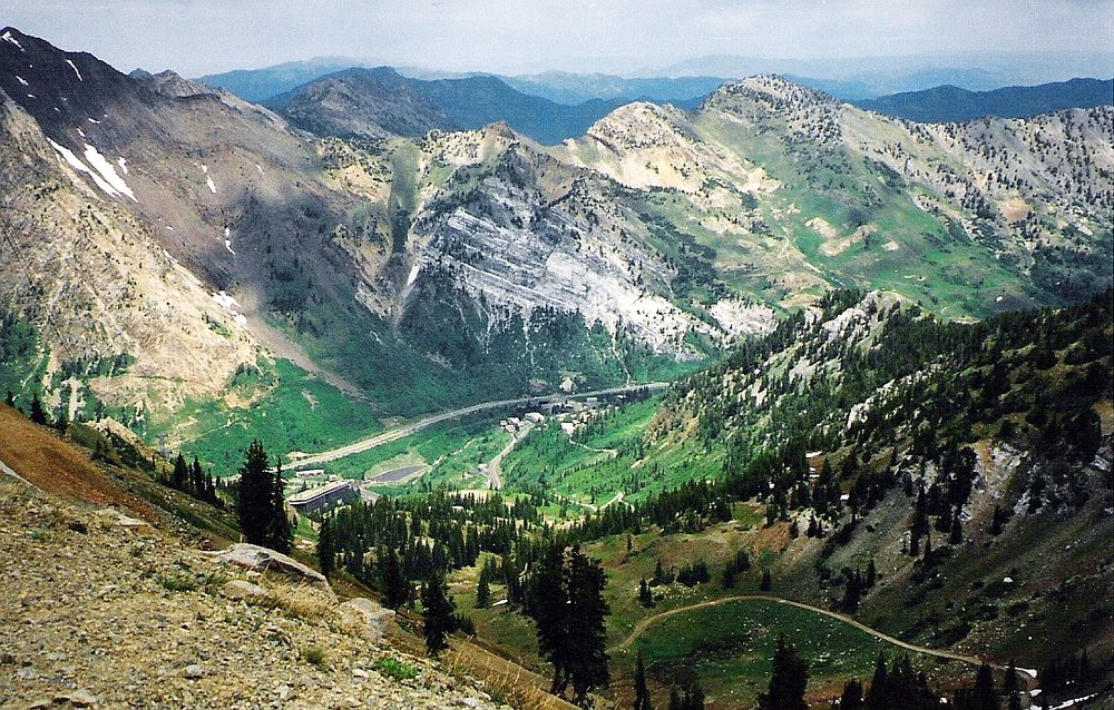 Snowbird Ski & Summer Resort is about a 45 minute drive from Salt Lake City.