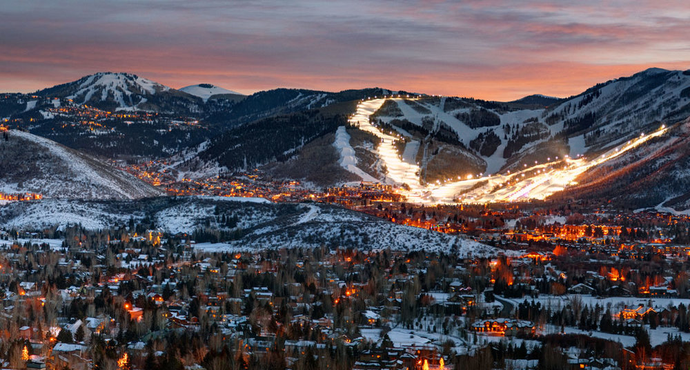 Park City is about a 45 minute drive from Salt Lake City.