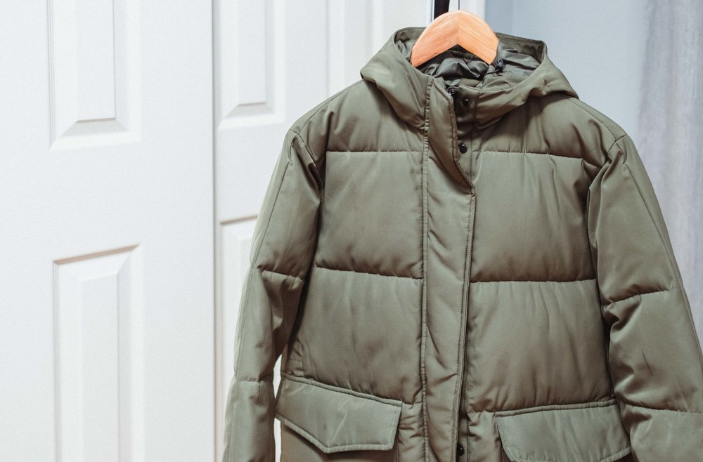 Everlane:  ReNew Long Puffer