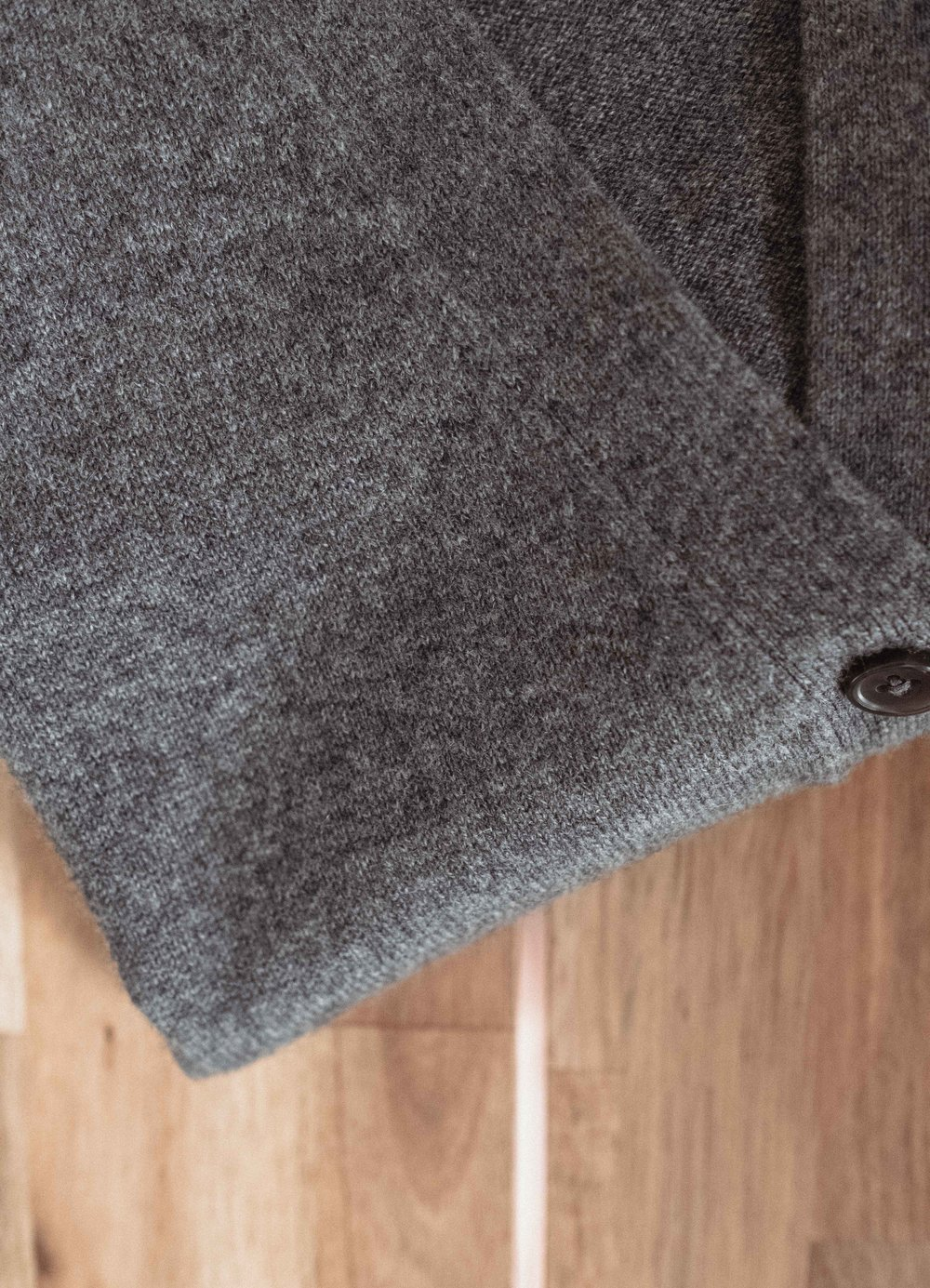 Step 10:  once your sweater is dry, give it a quick gentle steam and fold up properly for storage