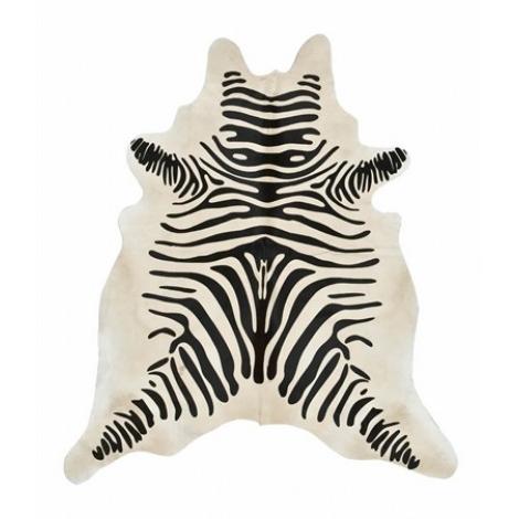 Zebra rug  (similar)