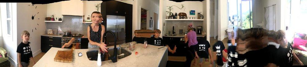Jennifer Leigh Design, Family kitchen,