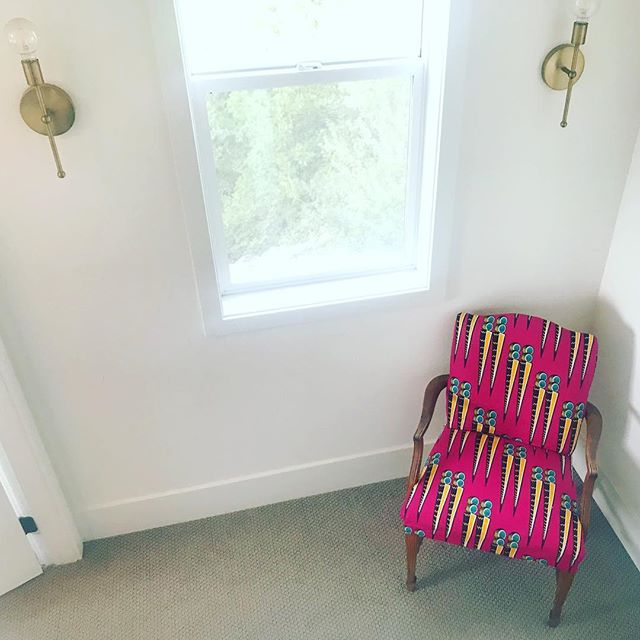I don't have a pink shirt but I have a pink chair and everyone's welcome to sit in it. #pinkshirtday