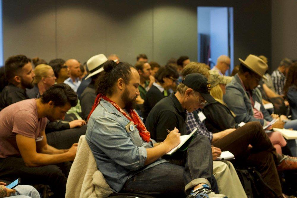 Participants at the 2018 Veterans Writing Retreat.