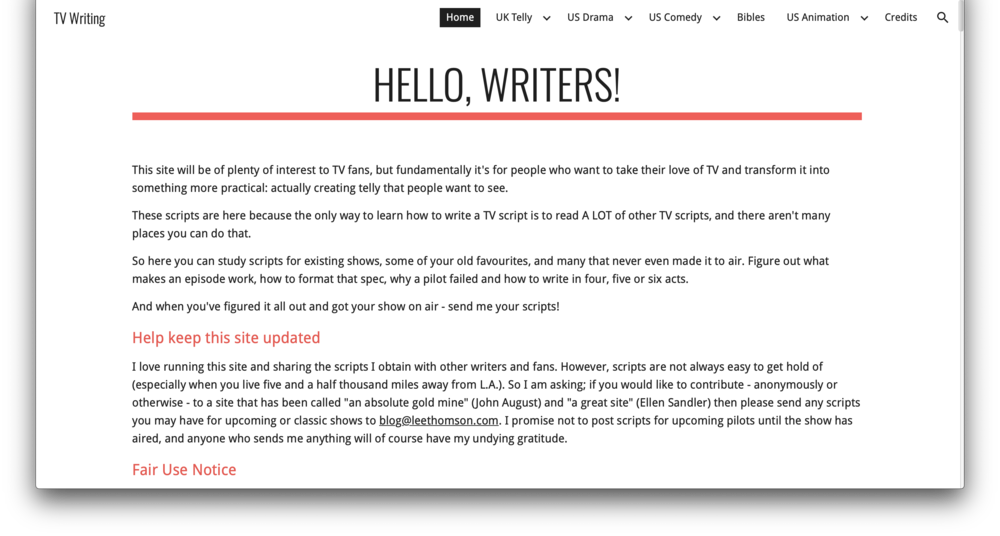 the essential web resources for screenwriters the writers guild