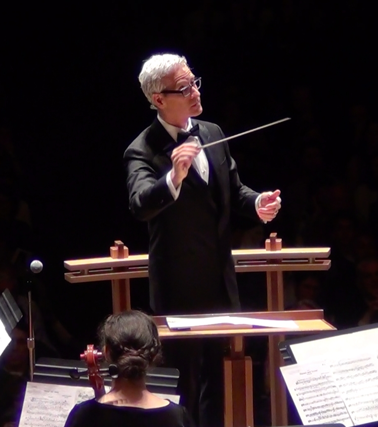 Jeff conducting the Metropolitan Youth Symphony, Schnitzer Concert Hall, Portland, OR in 2016