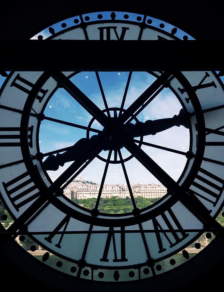 Clock at Musée d'Orsay  (Paris, France)