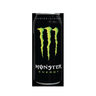 Free 16 oz Monster Energy Drink