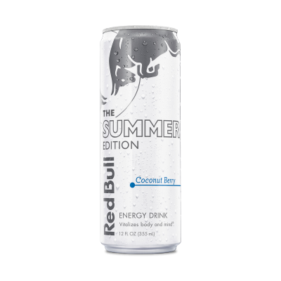 Free 12oz Coconut Berry Red Bull