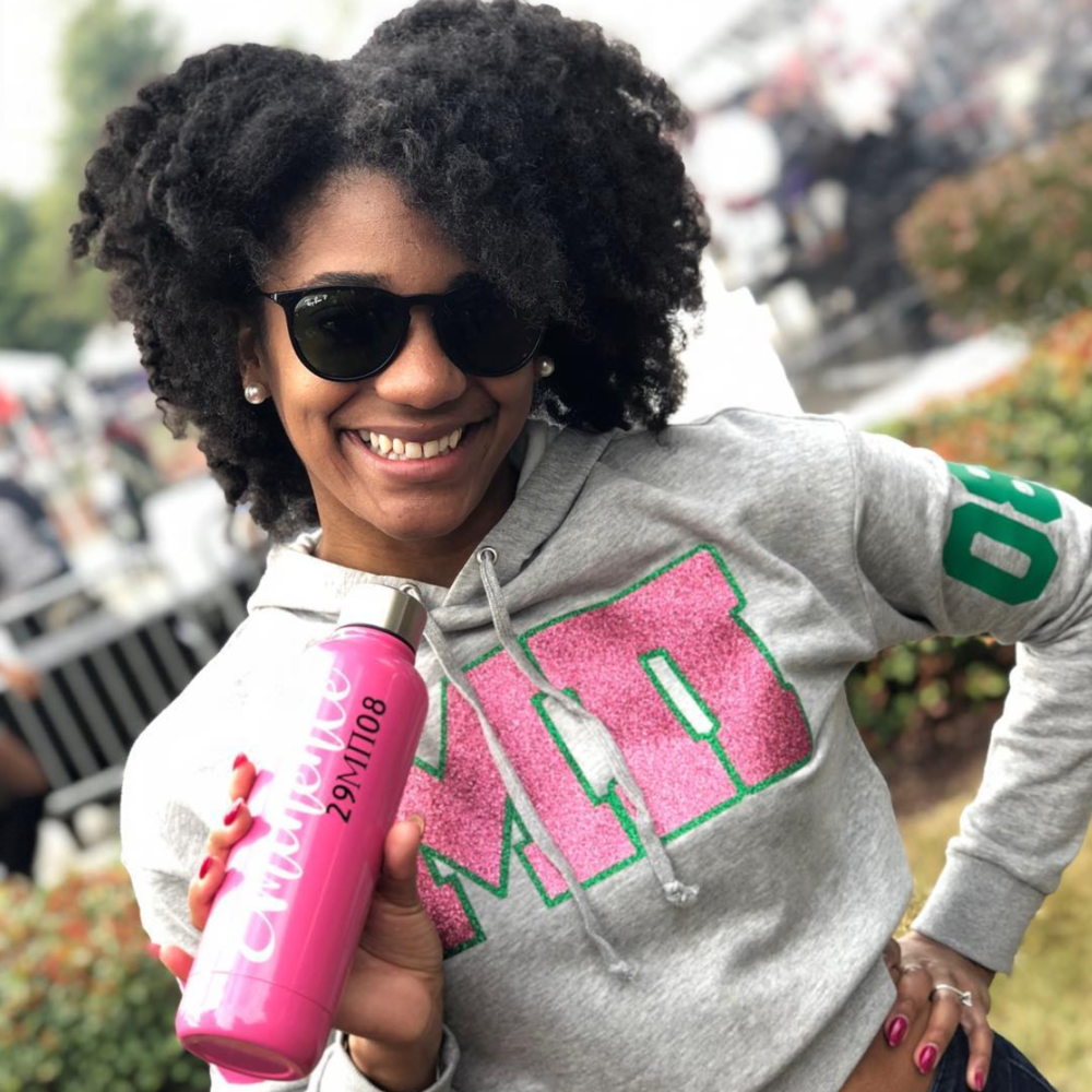 Marcy at Spelman Homecoming 2018