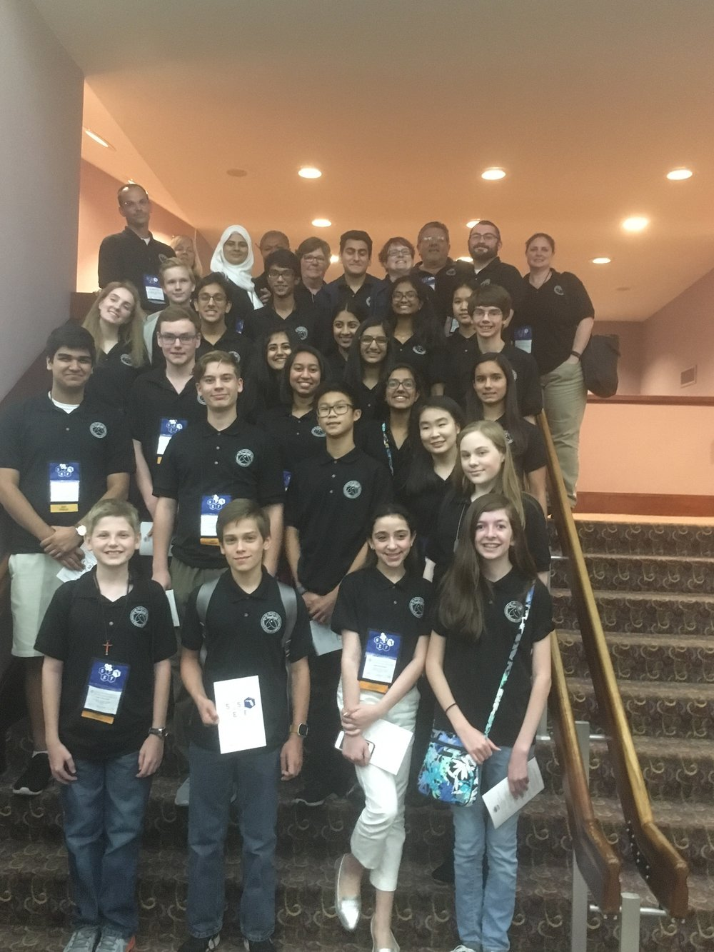 The 2017 Ying Delegation to the Florida State Science and Engineering Fair