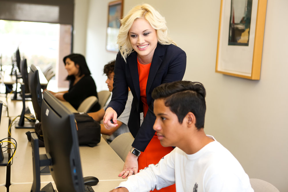 Giving Students the Tools They Need to Succeed   - christina has hands on experience preparing students for the workforce