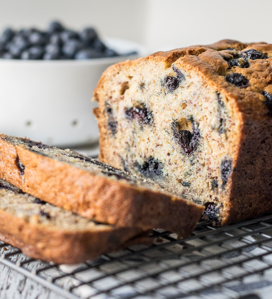 Blueberry Banana Bread-8