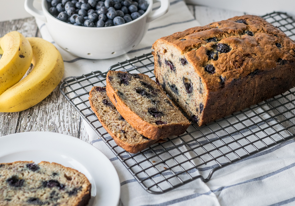 Blueberry Banana Bread-9