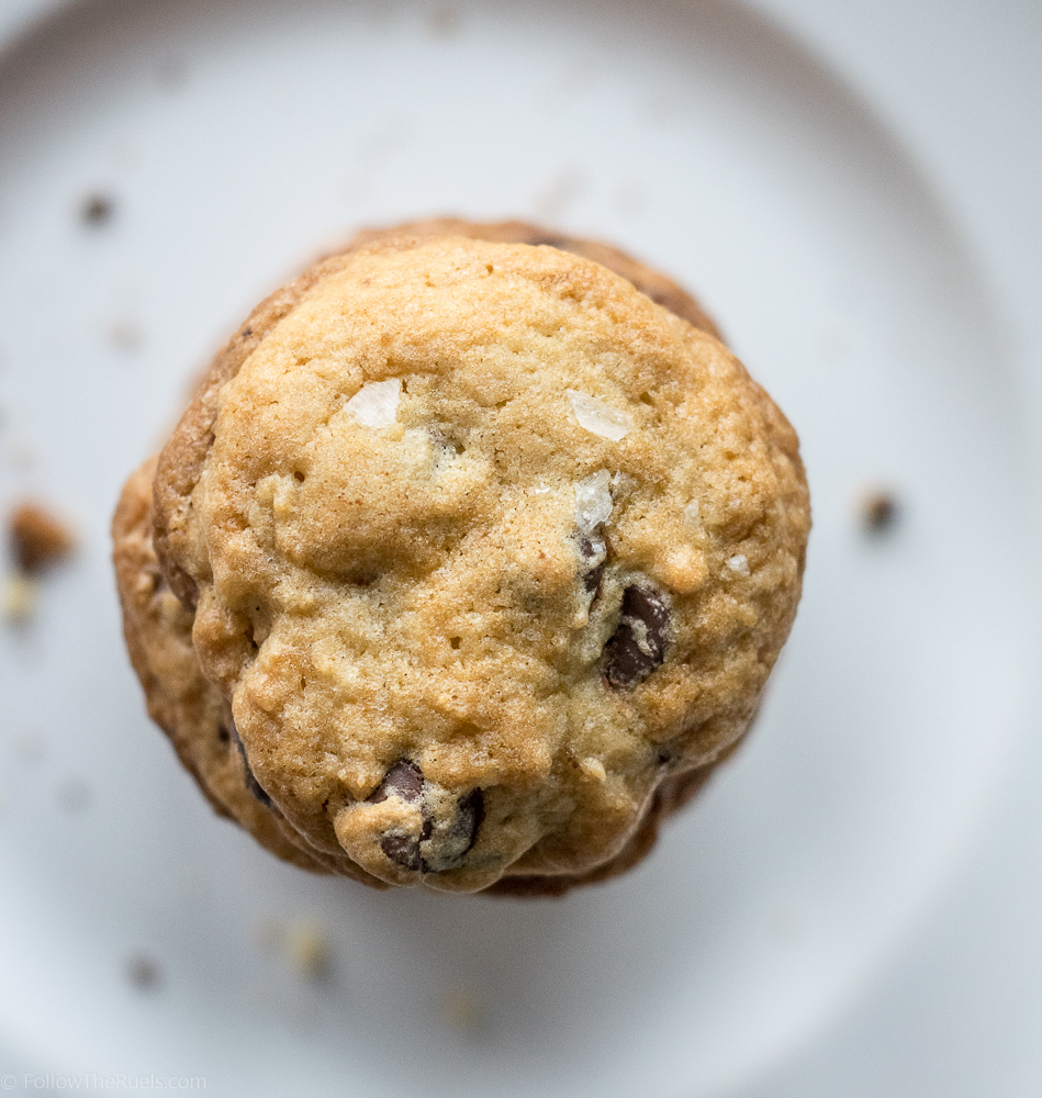 Classic Chocolate Chip Cookie with Sea Salt