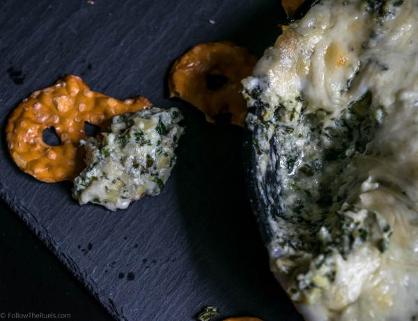 Kale Artichoke Dip-5