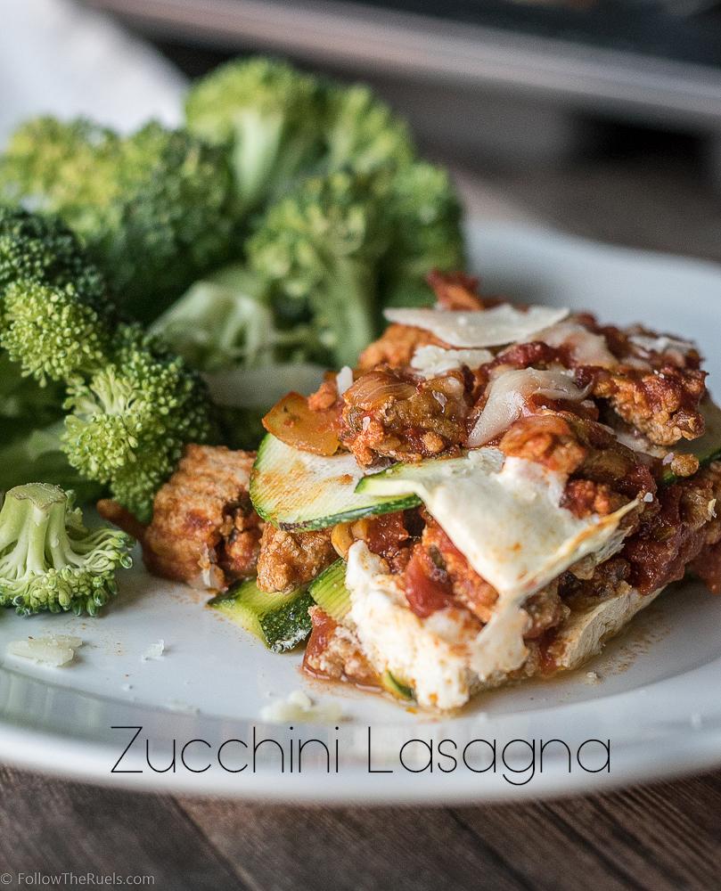 Zucchini-Lasagna-