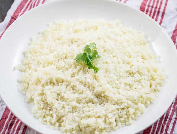 5 minute cauliflower rice