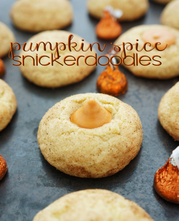 Pumpkin spice snickerdoodle cookie