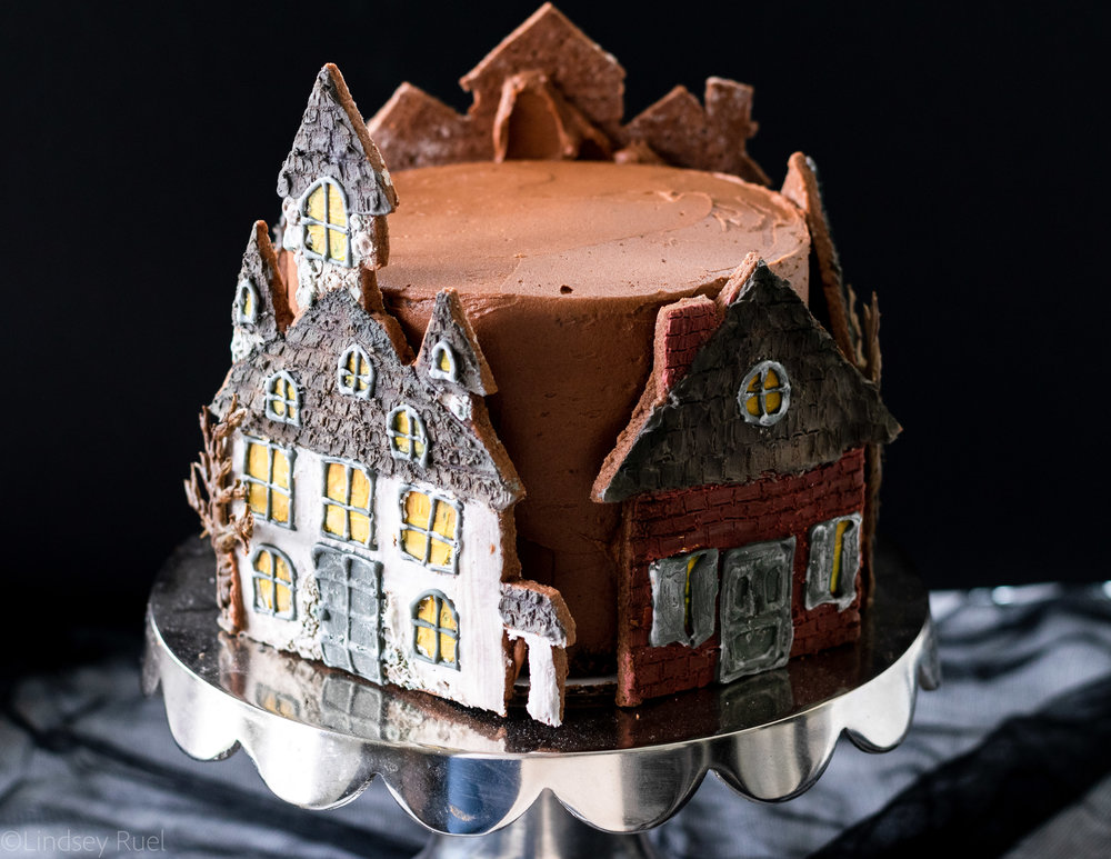 Haunted House Cookie Cake-12.jpg