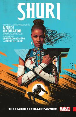 Shuri: The Search for Black Pantherby Nnedi Okorafor - The world fell in love with her in Marvel's Black Panther. Now, T'Challa's techno-genius sister launches her own adventures — written by best-selling Afrofuturist author Nnedi Okorafor and drawn by Eisner Award-nominated artist Leonardo Romero! T'Challa has disappeared, and everyone is looking at the next in line for the throne. Wakanda expects Shuri to take on the mantle of Black Panther once more and lead their great nation — but she's happiest in a lab, surrounded by her own inventions. She'd rather be testing gauntlets than throwing them down!Release Date: May 7th 2019