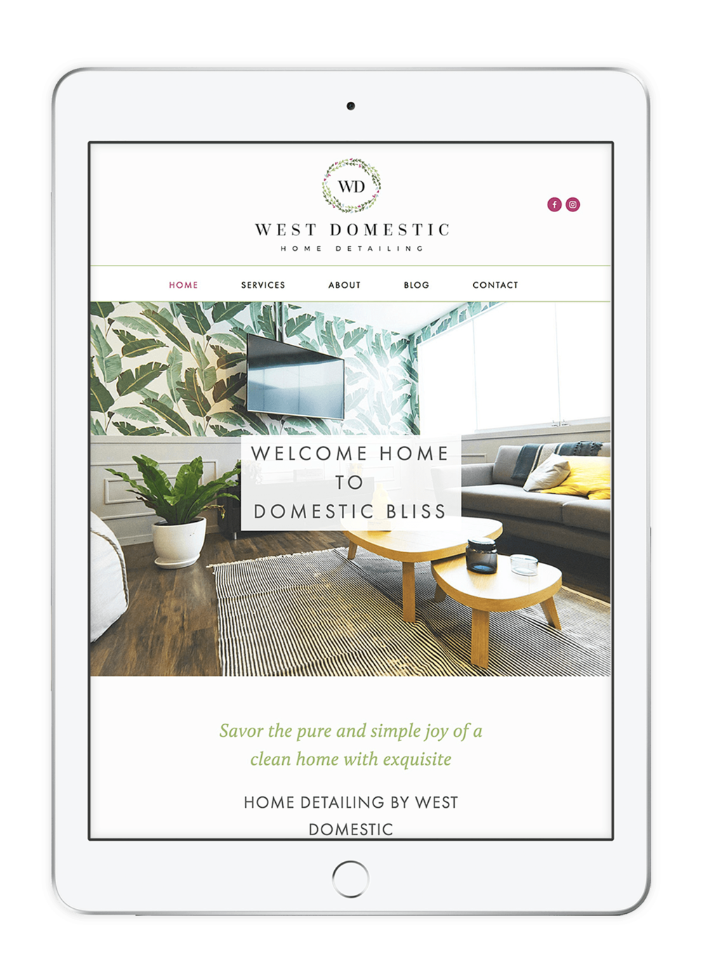 West Domestic white ipad mockup bare.png