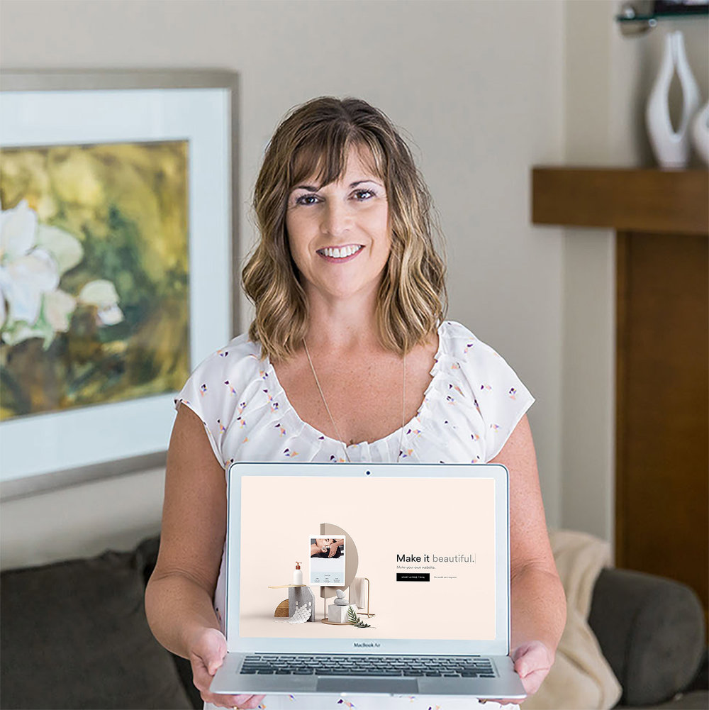 Ready for your own custom Squarespace site? - Download my information package to learn more and have an opportunity to book a call with me.