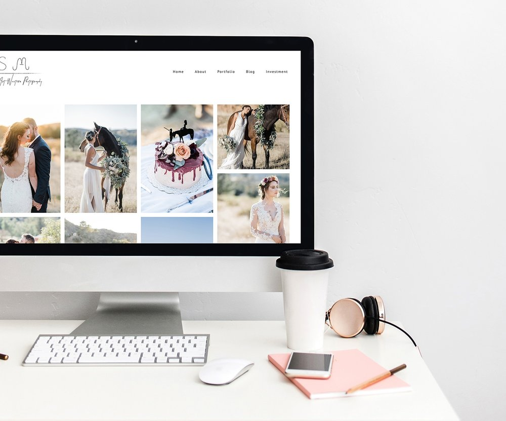Website Restyle - Is your Squarespace making you feel less than excited? Does it need a little jazzing up? Extra functionality? Or just not sure how to set something up?