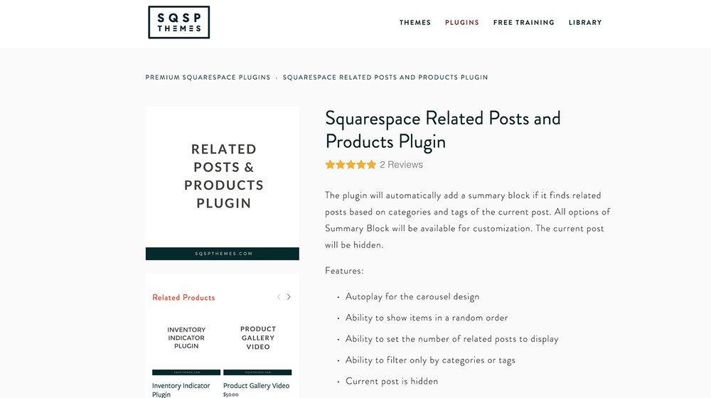 Sqspthemes Related Posts Plugin -