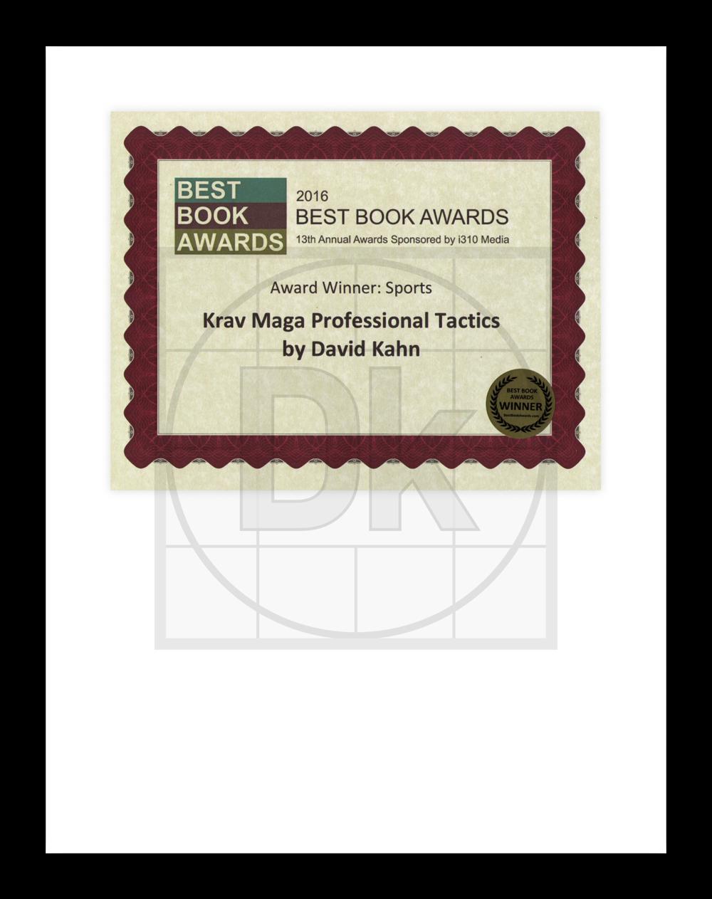2016 Best Book Award