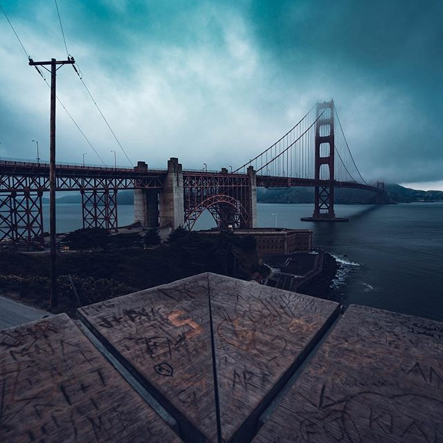 Better to see something once than hear about it a thousand times. ••••••••••••••••••••••••••••••••••••• Gear  @sonyalpha a7iii  @sonyalpha 16-35f4 ••••••••••••••••••••••••••••••••••••• . . . . . . #ilovesf #goldengate #sanfrancisco  #moodygrams #agameoftones #createcommune #illgrammer #justgoshoot #createexplore #way2ill #fatalframes #heatercentral #sonya7iii #ig_color #igshotz #master_shots #sonyalpha #rsa_light #ig_masterpiece #superhubs #loaded_lenses #theimaged #watchthisinstagood  #sanfranciscobay