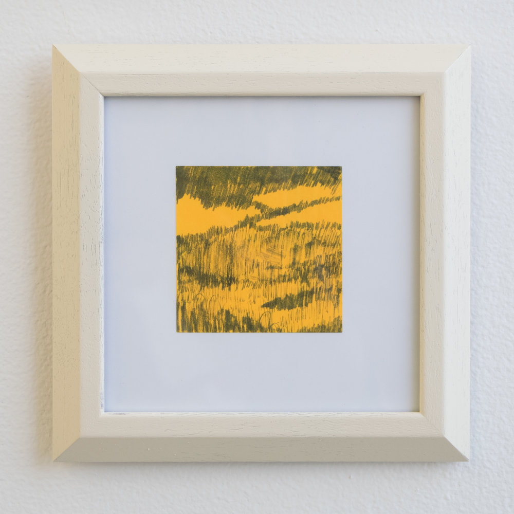 Landscape on Post-It #2