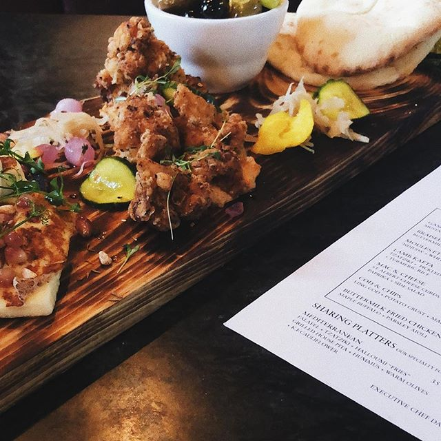 Sharing is caring ✨  Our Mediterranean sharing board is a great way to start any celebration. We're still taking bookings for Valentines weekend. Book your table now 613-422-5111 #seeyouattheclarendon 📷: @ericvancestudio