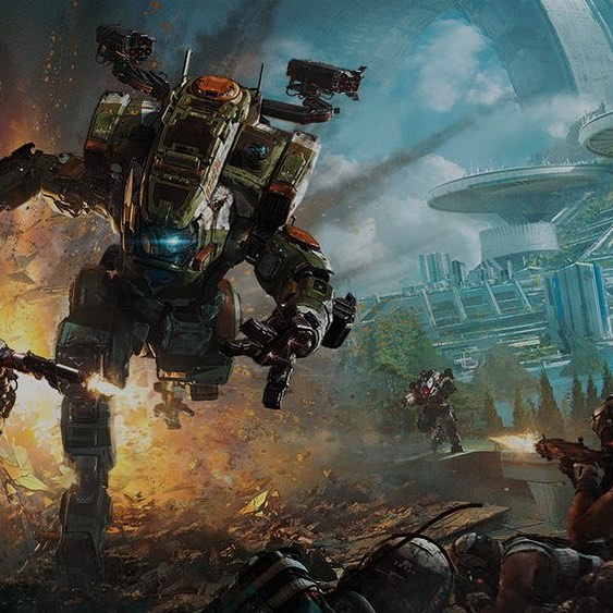 Titanfall Royale?!? There is a rumor that we are about to have a hot drop of a new Royale featuring 3 man teams running different classes in a Royale setting... this is rumored to be FREE TO PLAY and released AS SOON AS MONDAY?!? We will find out shortly if this is true or not... but what do you think? Would you welcome a new Royale in the Titanfall Universe? . . #rumor #gaming #game #games #titanfall #titanfall2 #battleroyale #xboxone #xbox #ps4 #pcgaming #entertainment #news #nerd #robot #royale
