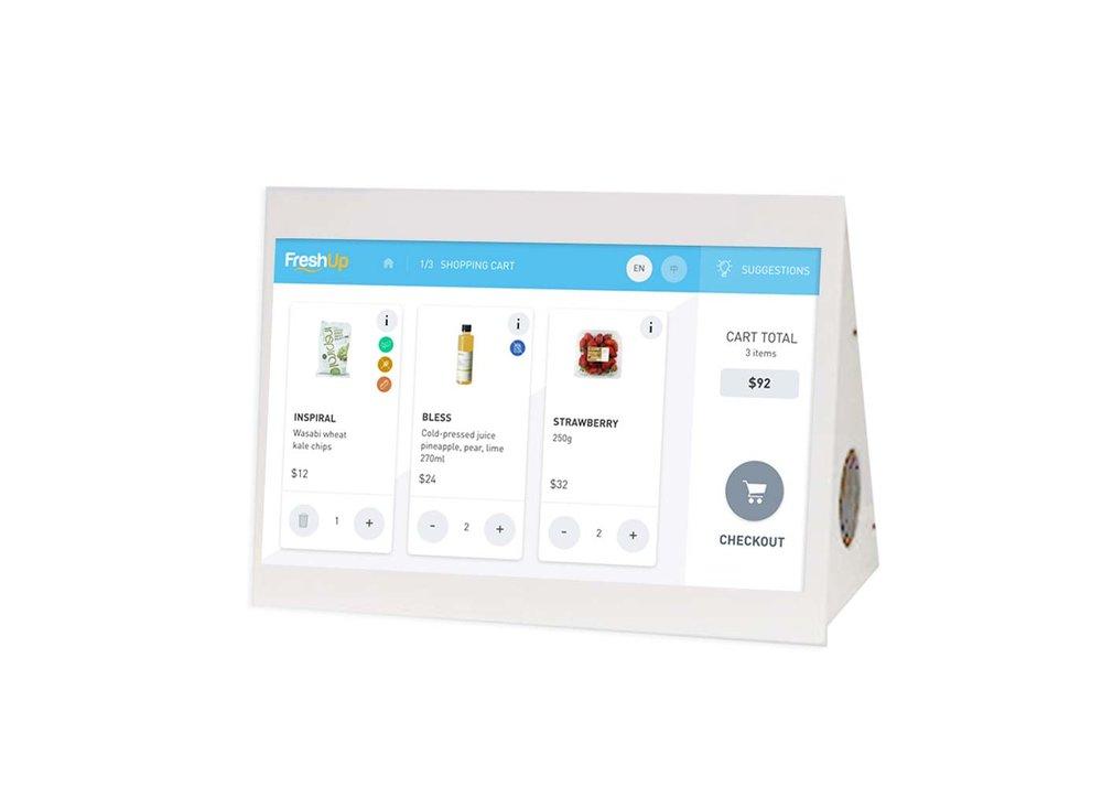 FreshUp, micromarket, office vending solution, office vending hong kong, office pantry solution