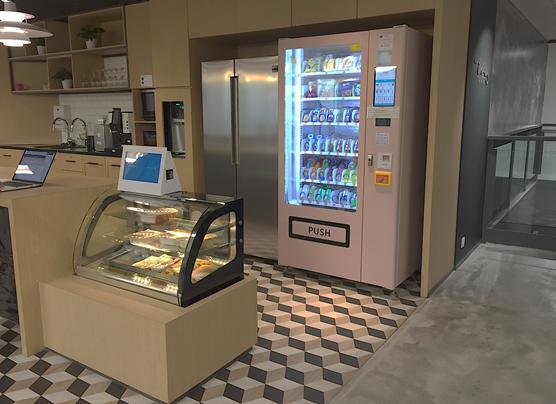 Micro Market + Vending Machine