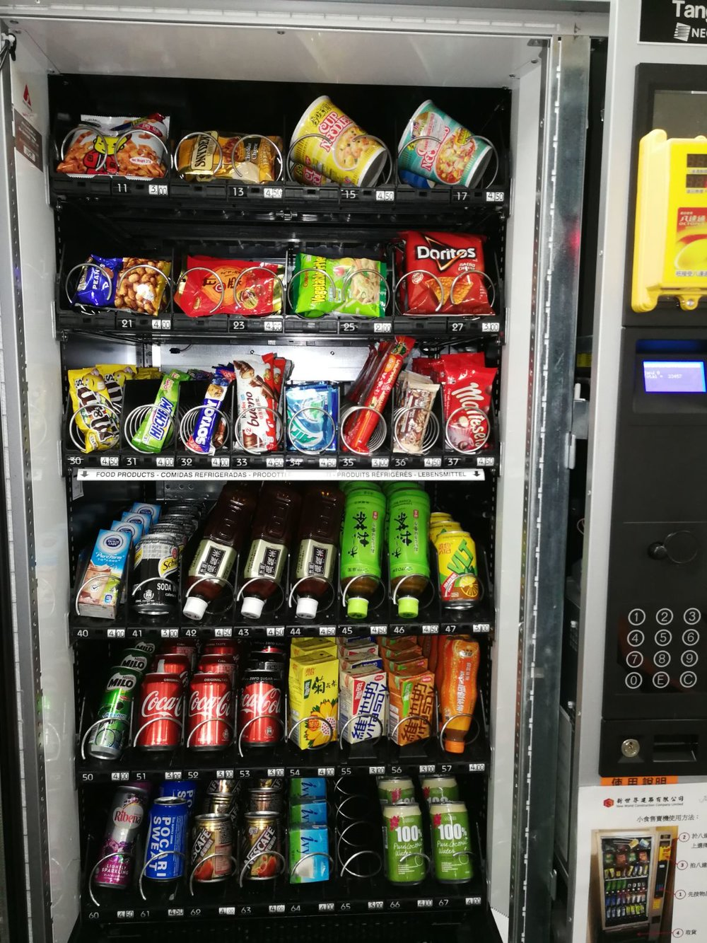 Freshup, vending machine hk, interactive, food, beverage, smart retail, convenient, vending services, professional, corporations, New World Development Company Limited